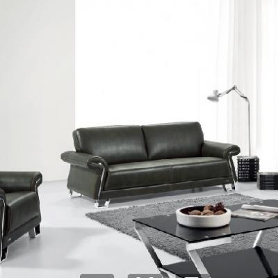 简约会客接待商务办公室家具时尚沙发茶几组合